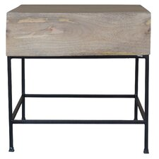 Stefania End Table by Union Rustic