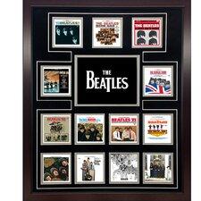 The Beatles 'US Album Discography Collage' Framed Memorabilia