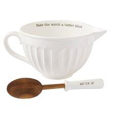 Circa 2 Piece Ceramic Mixing Bowl Set