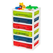 6-Case Storage Chest
