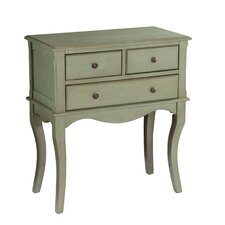 Boudreau 3 Drawer Accent Chest by One Allium Way
