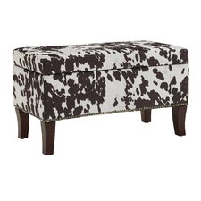 Adelynn Udder Madness Palomino Ottoman by Williston Forge
