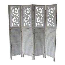 "Mota 70"" x 67"" 4 Panel Room Divider"