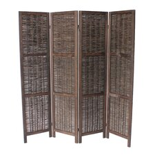 "Burrillville 70"" x 67"" 4 Panel Room Divider"