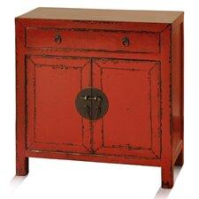 Buren 2 Door 1 Drawer Cabinet by World Menagerie