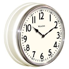 "12"" Retro Round Wall Clock"