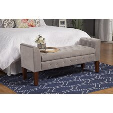 Wilford Upholstered Storage Bedroom Bench