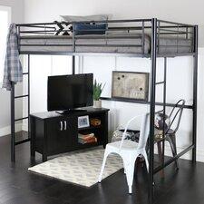 Maurice Full Loft Bed Customizable Bedroom Set by Viv   Rae™