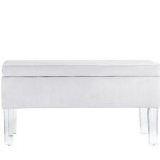 Davis Upholstered Storage Bedroom Bench by Wade Logan