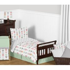 Mod Arrow 5 Piece Toddler Bedding Set