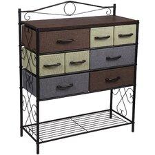 Victorian 8 Drawer Storage Chest by Household Essentials