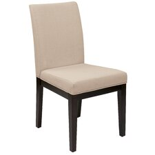 Feldman Side Chair in Beige by House of Hampton