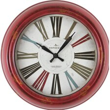 """Red Relic 10"""" Wall Clock"""