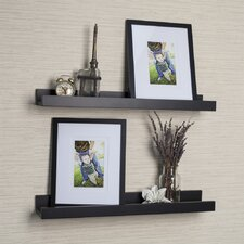 4 Piece Ledge Floating Shelf and Picture Frame Set by Alcott Hill