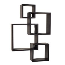 Intersecting Cubes Shelf by Langley Street