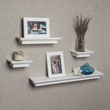 4 Piece Floating Shelf Set by Darby Home Co