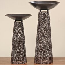 Frederike 4 Piece Decorative Bowl and Stand Set