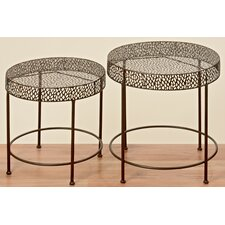 Frederike 2 Piece Nest of Tables