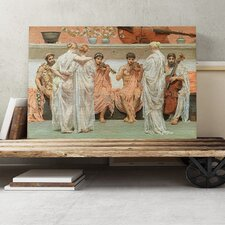 'A Quartet' by Lawrence Alma-Tadema Painting Print on Canvas