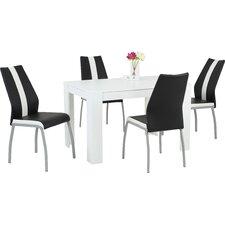 Essgruppe Trixi mit 4 Stühlen
