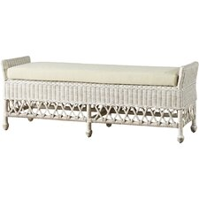 Winchendon Wicker Entryway Bench by Bay Isle Home