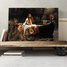 'The Lady of Shalott' by John William Waterhouse Painting Print on Canvas