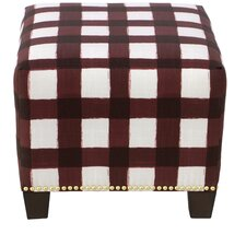 Laurie Square Nail Button Ottoman by Gracie Oaks