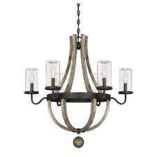Mott 6-Light Outdoor Chandelier
