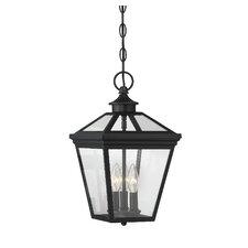 Coleg 3-Light Outdoor Hanging Lantern
