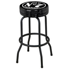 30 Swivel Bar Stool with Cushion by Jack Daniel's Lifestyle Products