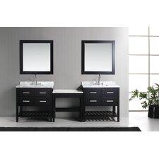 Halcomb 102 Double Bathroom Vanity Set by Red Barrel Studio
