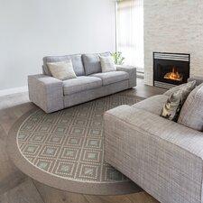 Modern Beautiful Piazza Brown Indoor/Outdoor Area Rug
