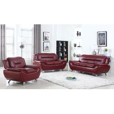 Bergenfield 3 Piece Living Room Set