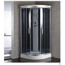 36 x 36 x 84.5 Corner Shower Enclosure by Kokss