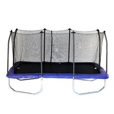 15' Rectangular Trampoline with Safety Enclosure II