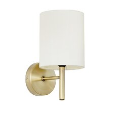 1 Light Semi-Flush Wall Light