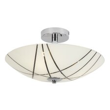3 Light Semi-Flush Ceiling Light
