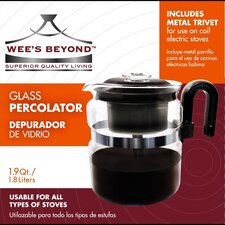 Stove Top Percolator Coffee Maker