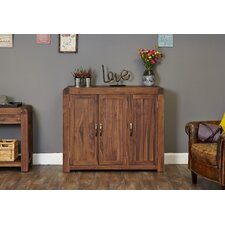 Shiro Walnut Range Shoe Cupboard