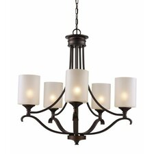 Glenshaw 5-Light Shaded Chandelier