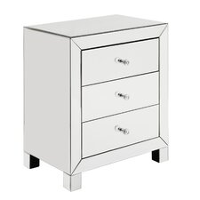Laurentis 3 Drawer Accent Chest by House of Hampton