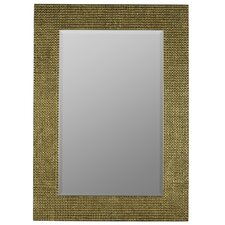 Rectangle Aged Gold  Mirror