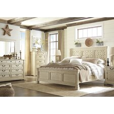 Alsace Panel Customizable Acacia Bedroom Set