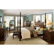 Belmont Queen Four Poster Customizable Bedroom Set