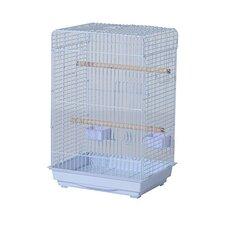 3 Door Bird Cage with Perches
