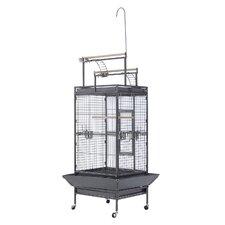 Metal Bird Cage with Castors