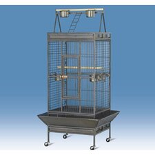 Coop Wire Mesh Bird Cage with Castors