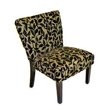 Oversize Velvet Slipper Chair by 4D Concepts