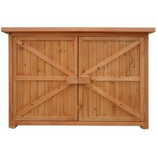4.20 ft. W x 1.62 ft. D Wood Horizontal Tool Shed