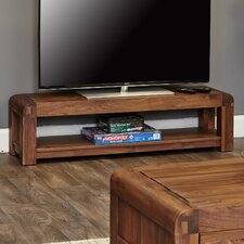 Shiro Walnut Range TV Stand for TVs up to 72""